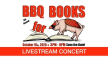 BBQ For Books - Facebook Header