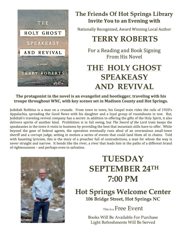 Terry Roberts Holy Ghost Flyer 2019 Final PDF